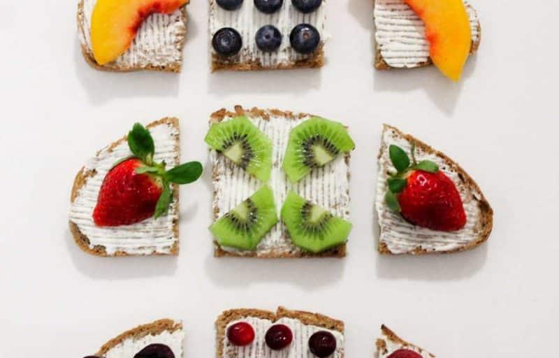 Was ist die 5:2-Diät? Brote mit Obst